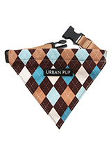 Brown & Blue Argyle Bandana - Our Brown and Blue Argyle Bandana is a traditional Scottish design which represents the Clan Campbell of Argyll in western Scotland. It is stylish, classy and never goes out of fashion. Used for kilts and plaids, and for the patterned socks worn by Scottish Highlanders since at least the 17th centur...
