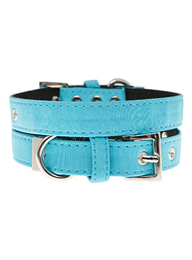 Neon Blue Fabric Collar