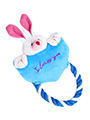 Heart to Heart Bunny Rope Toy
